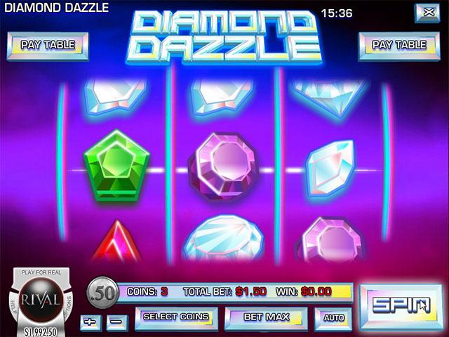 Kolikkopelit Diamond Dazzle, Rival SS - Toripelit.com