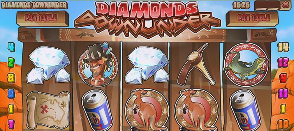 Kolikkopelit Diamonds Downunder, Rival Slider - Toripelit.com