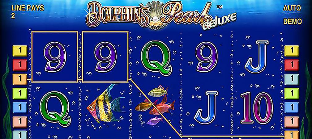 Kolikkopelit Dolphin's Pearl Deluxe, Novomatic Slider - Toripelit.com