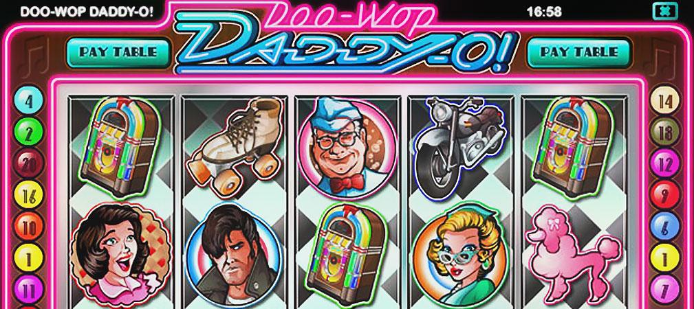 Kolikkopelit Doo Wop Daddy-O, Rival Slider - Toripelit.com