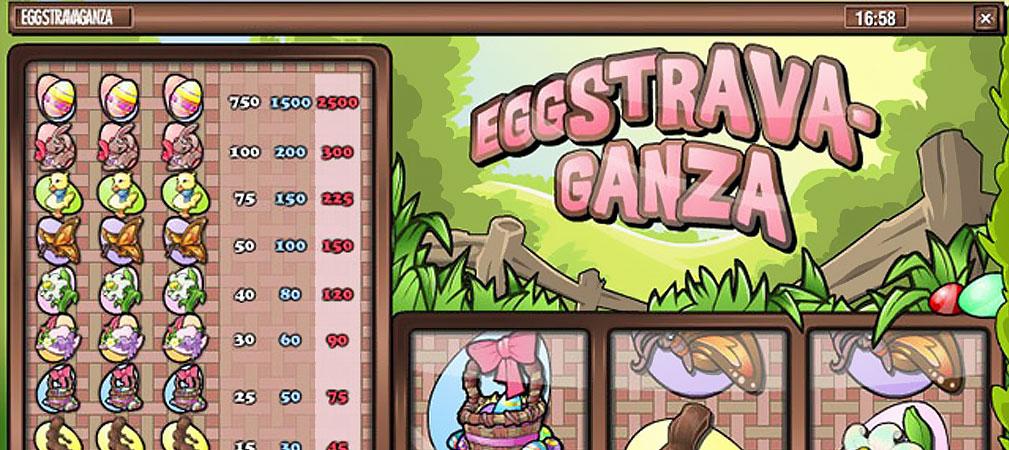 Kolikkopelit Eggstravaganza, Rival Slider - Toripelit.com