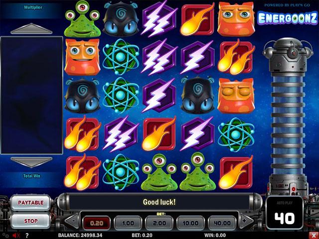 Kolikkopelit Energoonz, Play'n GO SS - Toripelit.com