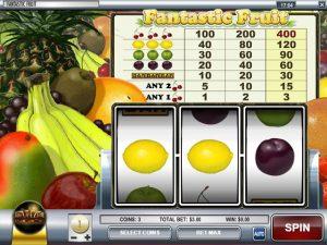 Kolikkopelit Fantastic Fruit, Rival SS - Toripelit.com