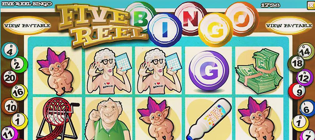 Kolikkopelit Five Reel Bingo, Rival Slider - Toripelit.com