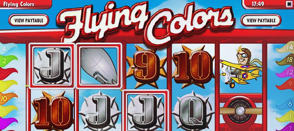 Kolikkopelit Flying Colors, Rival Slider - Toripelit.com