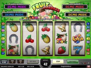 Kolikkopelit Fruit Bonanza, Play'n GO SS - Toripelit.com