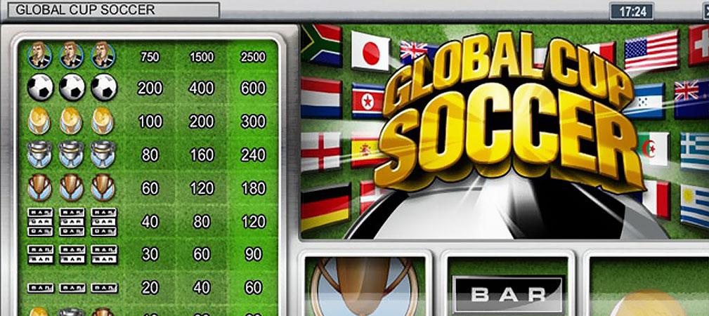 Kolikkopelit Global Cup Soccer, Rival Slider - Toripelit.com