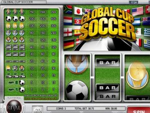 Kolikkopelit Global Cup Soccer, Rival SS - Toripelit.com