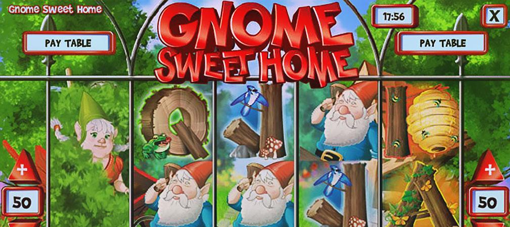 Kolikkopelit Gnome Sweet Home, Rival Slider - Toripelit.com