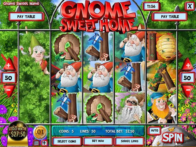 Kolikkopelit Gnome Sweet Home, Rival SS - Toripelit.com