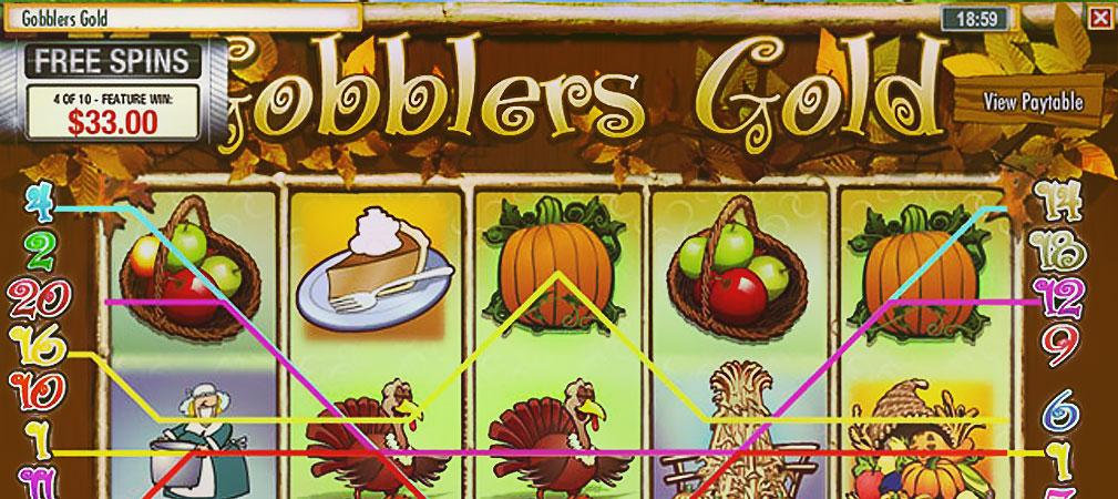 Kolikkopelit Gobbler's Gold, Rival Slider - Toripelit.com