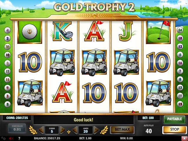 Kolikkopelit Gold Trophy 2, Play'n GO SS - Toripelit.com