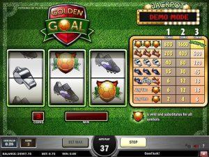 Kolikkopelit Golden Goal, Play'n GO SS - Toripelit.com