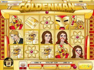 Kolikkopelit Golden Man, Rival SS - Toripelit.com