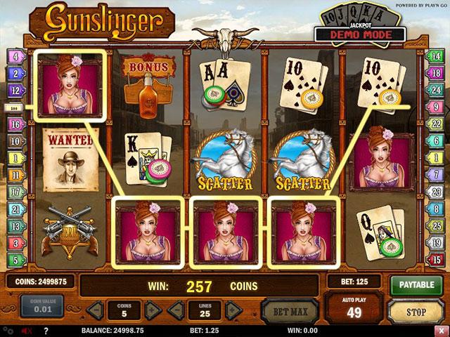 Kolikkopelit Gunslinger, Play'n GO SS - Toripelit.com