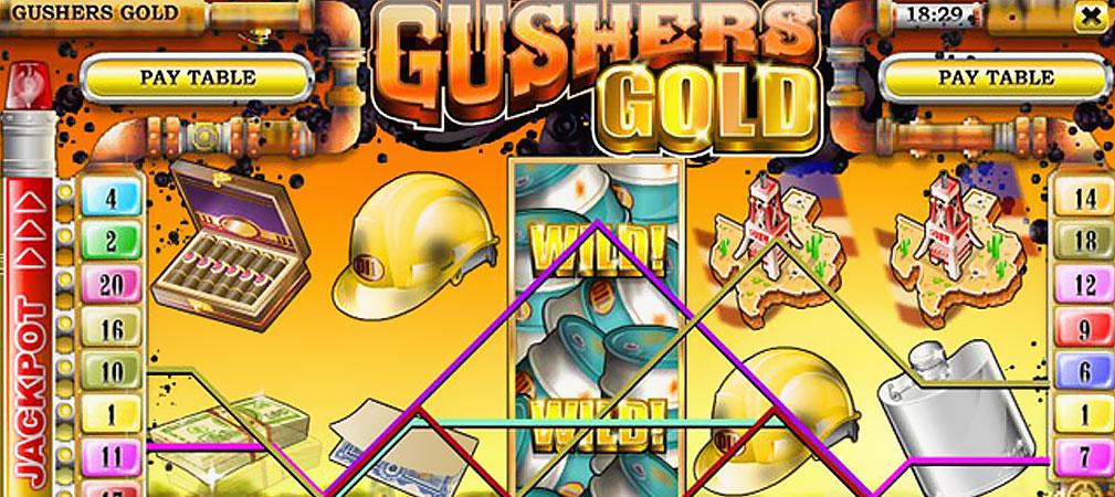 Kolikkopelit Gusher's Gold, Rival Slider - Toripelit.com