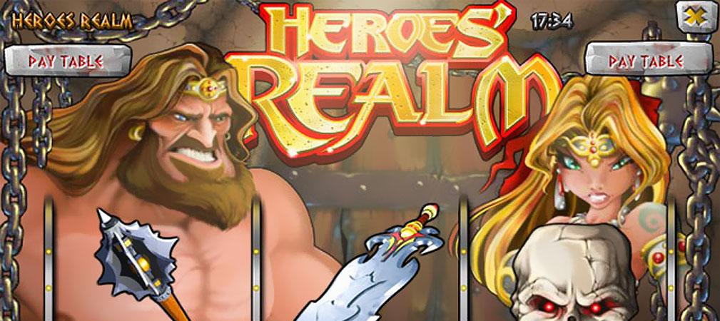 Kolikkopelit Heroes Realm, Rival Slider - Toripelit.com