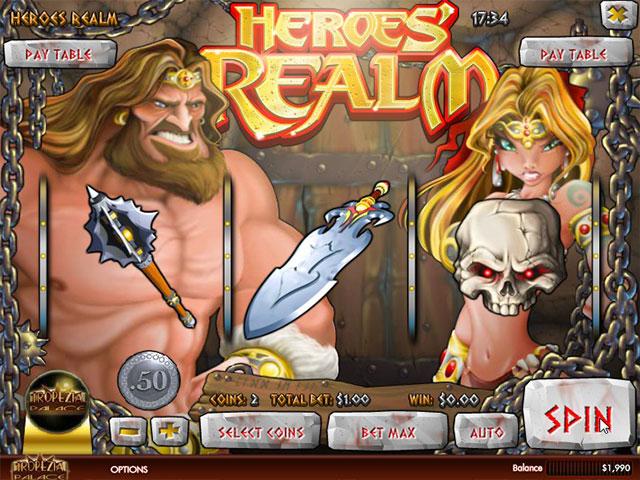 Kolikkopelit Heroes Realm, Rival SS - Toripelit.com