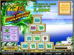 Kolikkopelit Holiday Cash, Yggdrasil Gaming SS - Toripelit.com