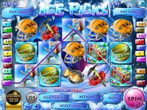 Kolikkopelit Ice Picks, Rival SS - Toripelit.com