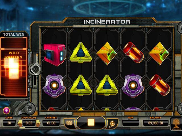 Kolikkopelit Incinerator, Yggdrasil Gaming SS - Toripelit.com