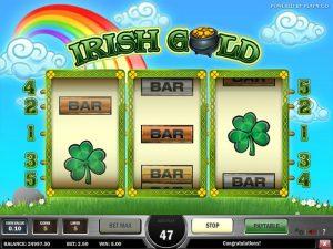 Kolikkopelit Irish Gold, Play'n GO SS - Toripelit.com