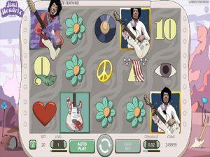 Kolikkopelit Jimi Hendrix, NetEnt SS - Toripelit.com