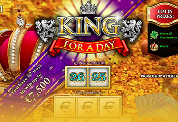 Kolikkopelit King for a Day, Yggdrasil Gaming Thumbnail - Toripelit.com