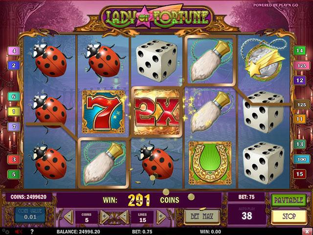 Kolikkopelit Lady of Fortune, Play'n GO SS - Toripelit.com
