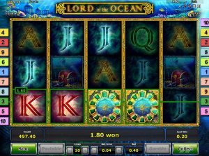 Kolikkopelit Lord of the Ocean, Novomatic SS - Toripelit.com