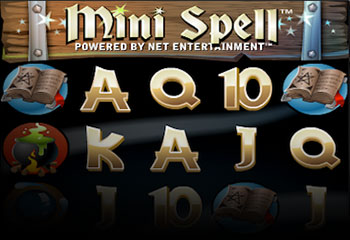 Kolikkopelit Mini Spell, NetEnt Thumbnail - Toripelit.com