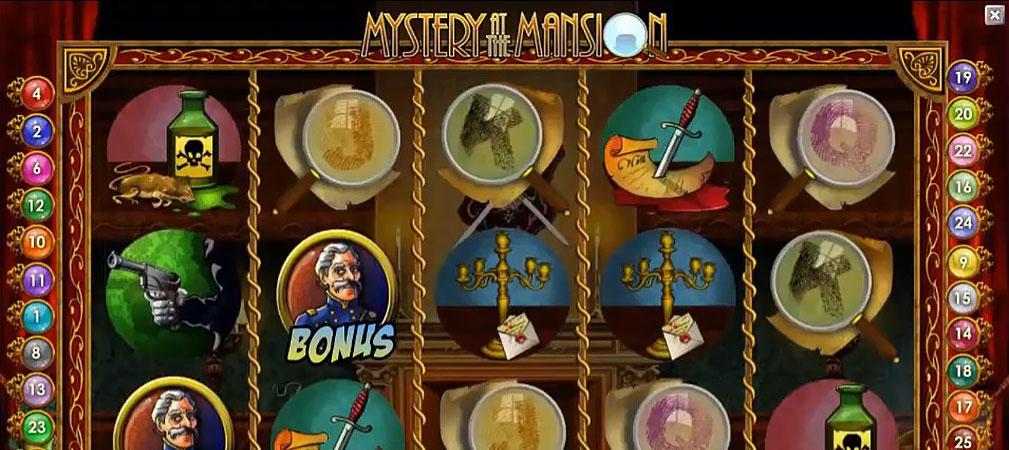 Kolikkopelit Mystery at the Mansion, NetEnt Slider - Toripelit.com