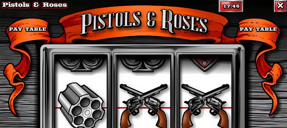 Kolikkopelit Pistols & Roses, Rival Slider - Toripelit.com