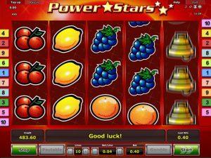 Kolikkopelit Power Stars, Novomatic SS - Toripelit.com
