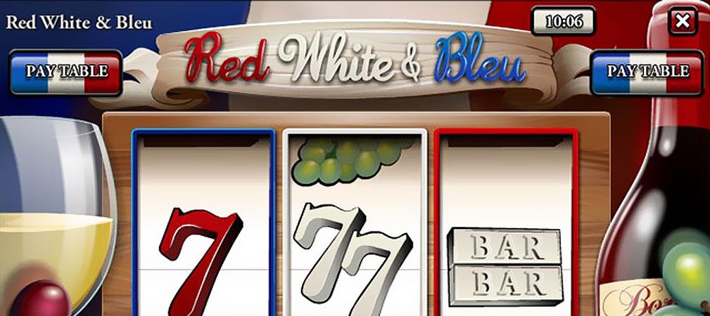 Kolikkopelit Red, White & Bleu, Rival Slider - Toripelit.com