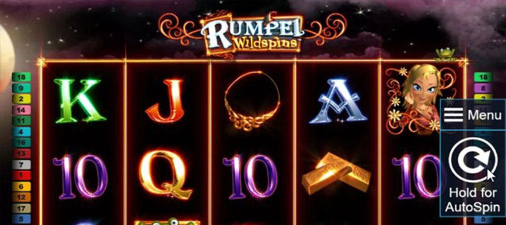 Kolikkopelit Rumpel Wild Spins, Novomatic Slider - Toripelit.com