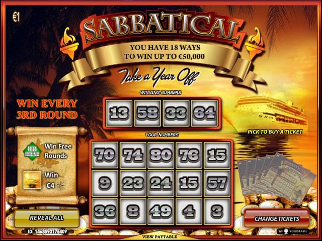 Kolikkopelit Sabbatical, Yggdrasil Gaming SS - Toripelit.com