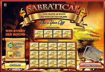 Kolikkopelit Sabbatical, Yggdrasil Gaming Thumbnail - Toripelit.com
