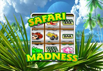 Kolikkopelit Safari Madness, NetEnt Thumbnail - Toripelit.com