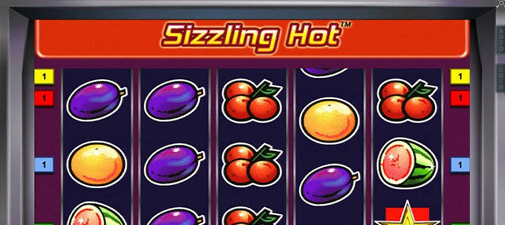 Kolikkopelit Sizzling Hot, Novomatic Slider - Toripelit.com