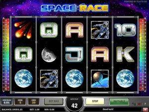 Kolikkopelit Space Race, Play'n GO SS - Toripelit.com