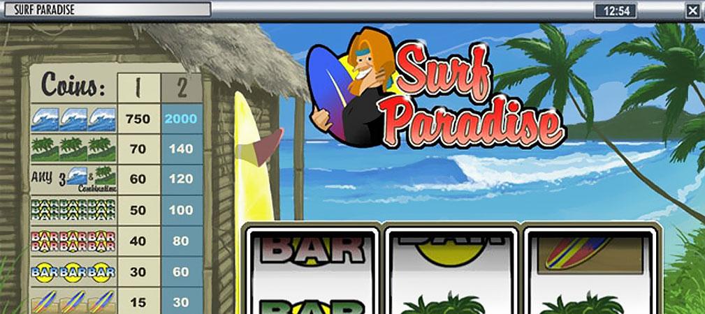 Kolikkopelit Surf Paradise, Rival Slider - Toripelit.com