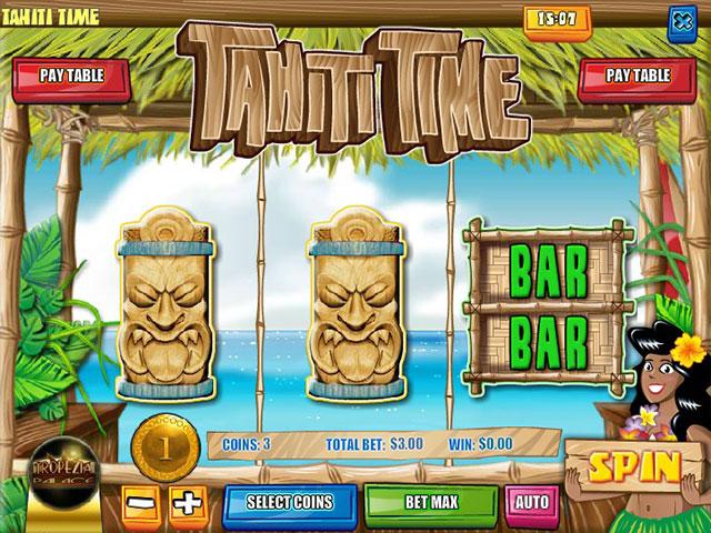 Kolikkopelit Tahiti Time, Rival SS - Toripelit.com
