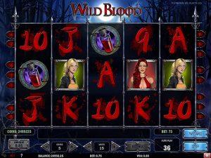 Kolikkopelit Wild Blood, Play'n GO SS - Toripelit.com