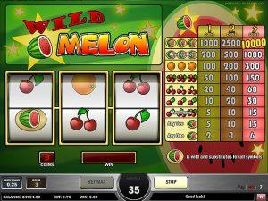 Kolikkopelit Wild Melon, Play'n GO SS - Toripelit.com