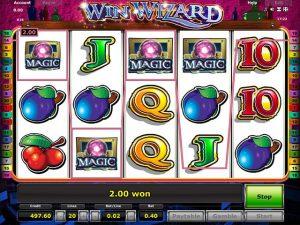 Kolikkopelit Win Wizard, Novomatic SS - Toripelit.com