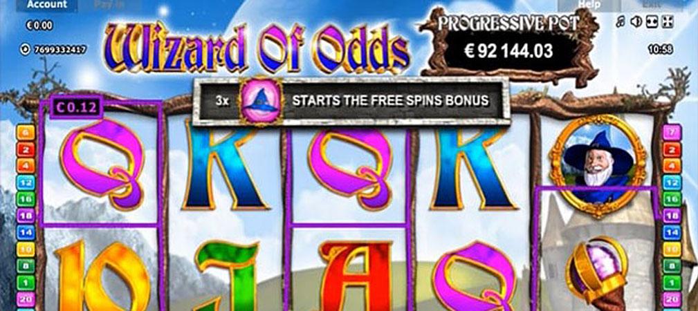 Kolikkopelit Wizard of Odds, Novomatic Slider - Toripelit.com