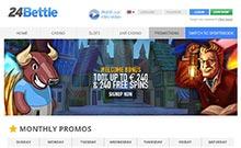 24Bettle casino Arvostelu kuvakaappaus  toripelit.com 2