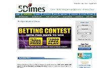 5Dimes casino Arvostelu kuvakaappaus  toripelit.com 3