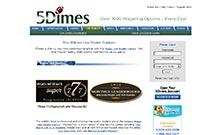 5Dimes casino Arvostelu kuvakaappaus  toripelit.com 1